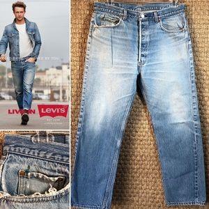 """Vintage 80s USA LEVIS 501 Jeans Size 35x29.5"""""""
